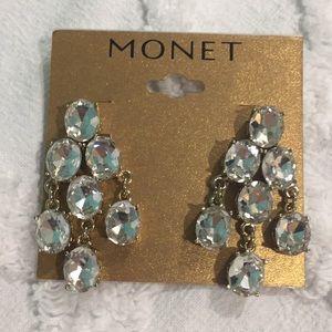 Monet chandelier post earrings